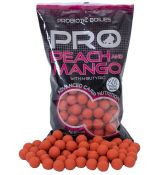 STARBAITS PROBIOTIC BOILIE 1 kg 20 mm Probiotic Peach Mango   N-Butyric